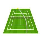 テニス フォアハンドのアウト・ふかしが多い人の特徴3つ【治す方法3つ】